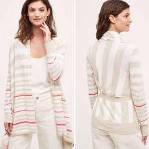 Anthropologie Moth gradient high-low cardigan